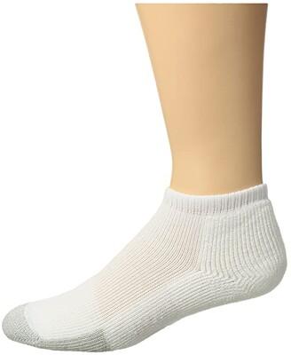 Thorlos Tennis No Show Single Pair Socks (White) Crew Cut Socks Shoes