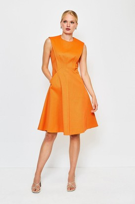 Karen Millen Sculptured Pique Dress