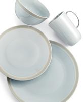 Vera Wang Wedgwood Dinnerware, Gradients Mist Porcelain 4-Pc. Place Setting