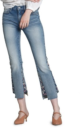 Driftwood Faded Cropped Jeans