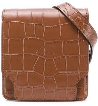 Marge Sherwood Croc-Effect Belt Bag