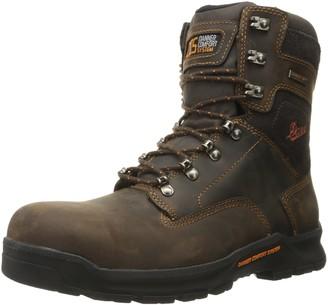 Danner Men's Crafter 8 Inch Non-Metallic Toe Work Boot