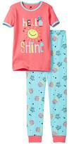 Petit Lem Hello Sunshine Pajama - 2-Piece Set (Little Girls & Big Girls)