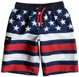 Quiksilver 4th of July Luau Swim Trunks (Big Boys)
