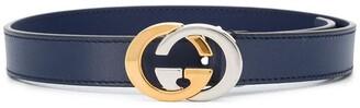 Gucci Kids Interlocking G logo belt