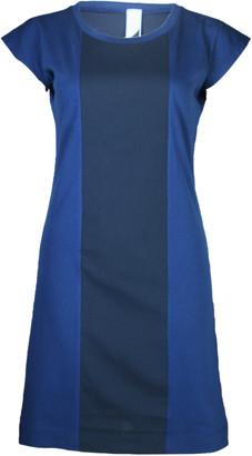 Format PLUM Blue Single Plain Dress - XS - Blue