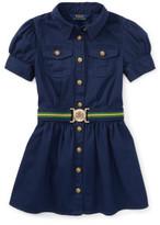 Polo Ralph Lauren Chino Shirt Dress (8-14 Years)