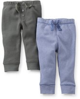 Carter's Baby Boys' 2 Pack Pants (Baby) - (NB)