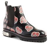Alexander McQueen Women's Print Chelsea Boot