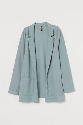 H&M Jersey Jacket - Turquoise
