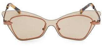 Karen Walker 53MM Mrs Brill Cat-Eye Sunglasses