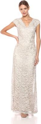 Tadashi Shoji Women's S/S EMBRD LACE Gown