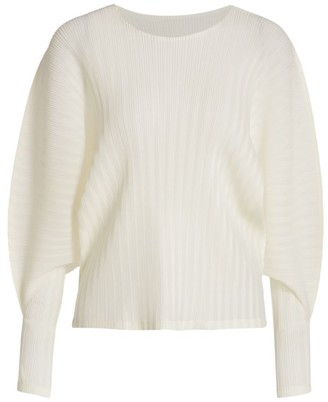 Pleats Please Issey Miyake Rib Pleats September Top