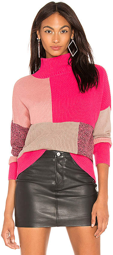 525 America Colorblock Turtleneck