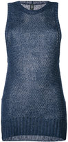 Eleventy knitted top - women - Linen/Flax - S