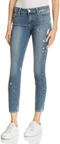 Paige Verdugo Skinny Ankle Jeans in Kirsten Destructed