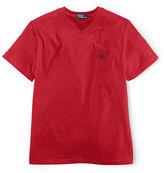 Ralph Lauren Boys 2-7 V-Neck Cotton T-Shirt