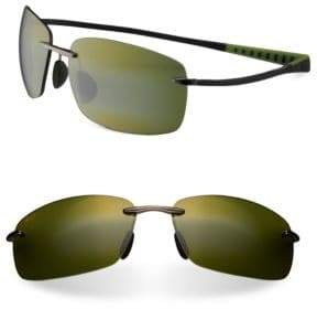 Maui Jim Kumu Rectangle Sunglasses