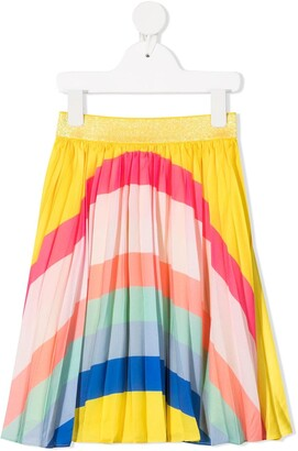 Billieblush Bright Stripe-Print Skirt