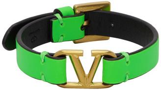 Valentino Green Garavani VLogo Bracelet
