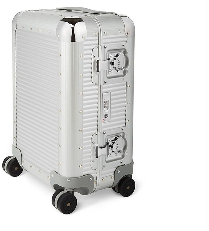 FPM Milano 55 Bank S Moonlight Silver Cabin Spinner Carry-On Suitcase