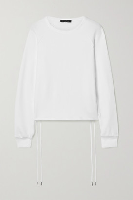 The Range Element Stretch French Cotton-terry Sweatshirt - White
