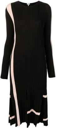 Loewe Long-Line Stripe Dress