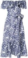 Lisa Marie Fernandez tie-waist midi dress