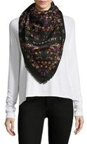 Givenchy Square Printed Shawl