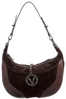 Valentino Suede & Leather Hobo