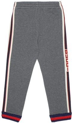 Gucci Kids Cotton trackpants