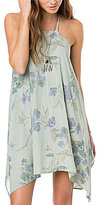 O'Neill Nicolette Floral High-Neck Trapeze Dress