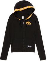 PINK University Of Iowa Perfect Full-Zip Hoodie