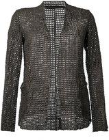 Salvatore Santoro - open-front jacket - women - Leather - 44