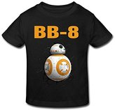 Seico Kids tee shirt Seico Stay Cute BB8 Robot T-shirt For Unisex Toddlers 3 Toddler