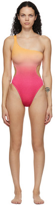 BOUND by Bond-Eye Pink and Orange The Milan One-Piece Swimsuit