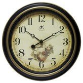 Infinity Instruments Procession Wall Clock - Black