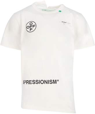 Off-White Off White Impressionism Print T-Shirt