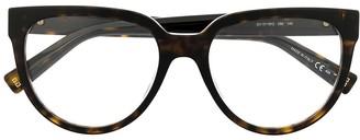 Givenchy Eyewear Clear-Lens Tortoiseshell Glasses
