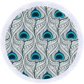 Birds Of A Feather Round Towel