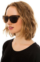 *MKL Accessories The Vintage Brow Sunglasses in Matte Tortoise