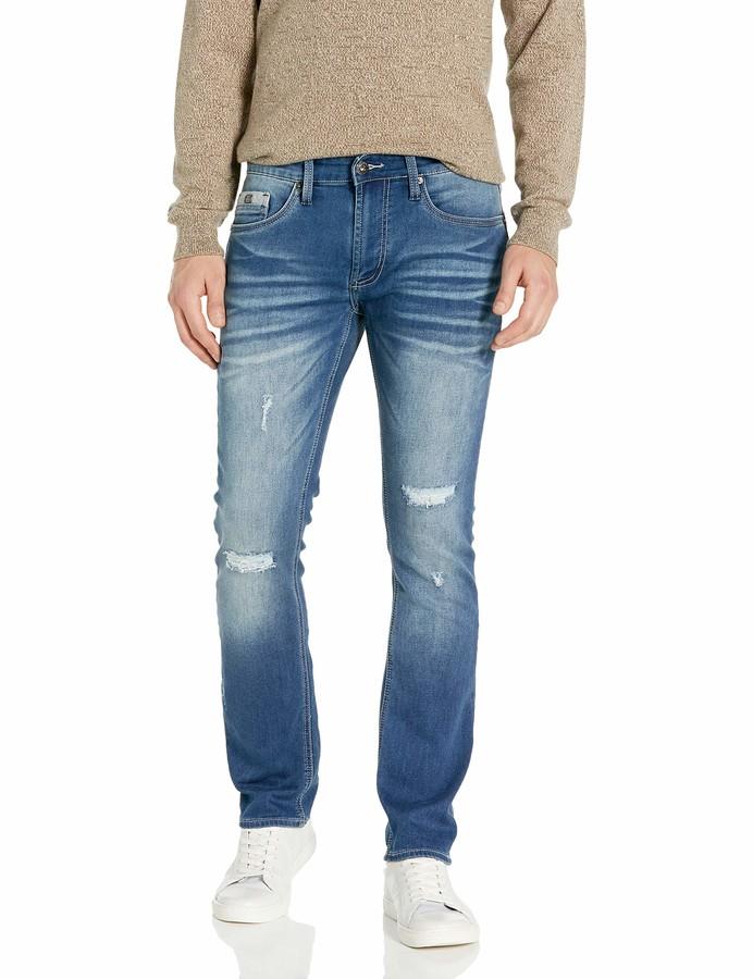 Buffalo David Bitton s32 skinny jeans cutoff distressed by Mark