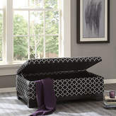 Asstd National Brand Madison Park Bennie Storage Ottoman