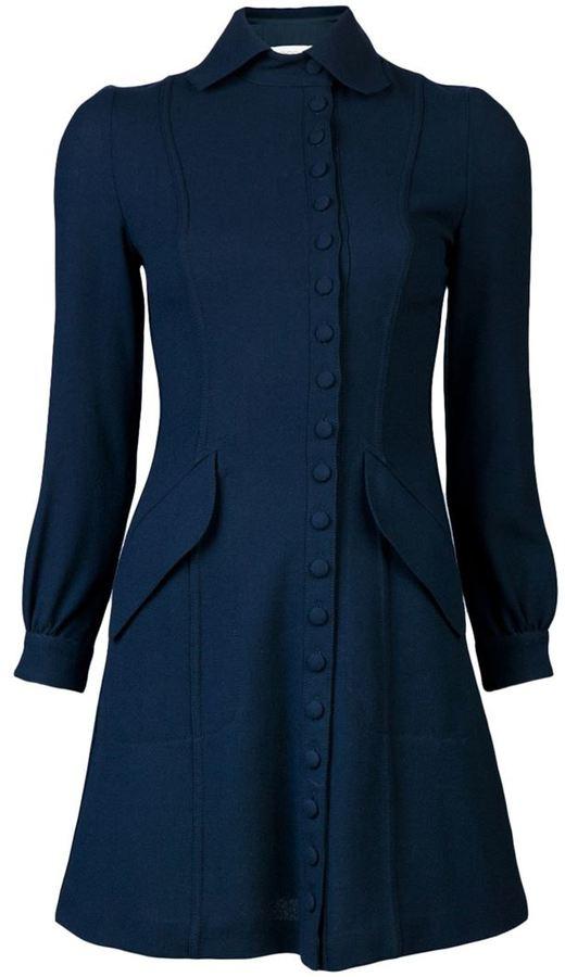 Ossie Clark Vintage Shirt dress