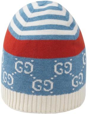 Gucci Children's GG cotton hat