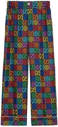 Gucci GG Psychedelic print pajama pant