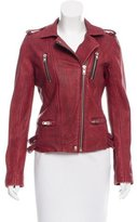IRO Leather Barby Biker Jacket