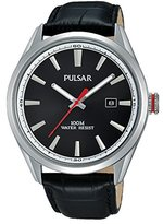 Pulsar Men's Watch Analogue Quartz Leather PS9375X1
