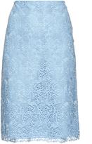 Nina Ricci Macramé-lace pencil skirt