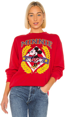 Junk Food Clothing Minnie Crest Flea Market Pullover